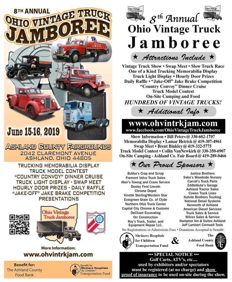 8th Annual Ohio Vintage Truck Jamboree -