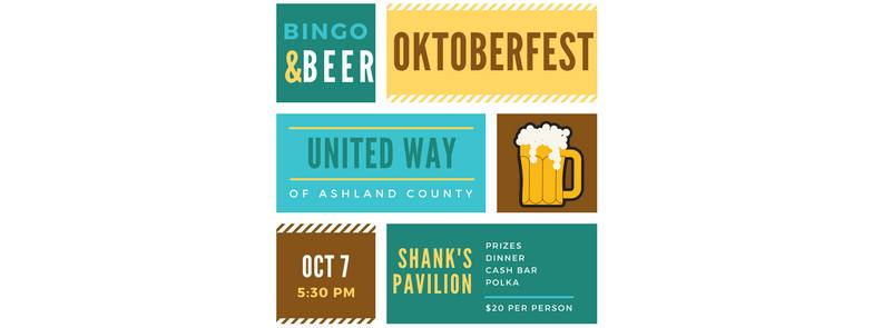 United Way's Oktoberfest:  Brats, Bingo, Beer, and Polka Music!